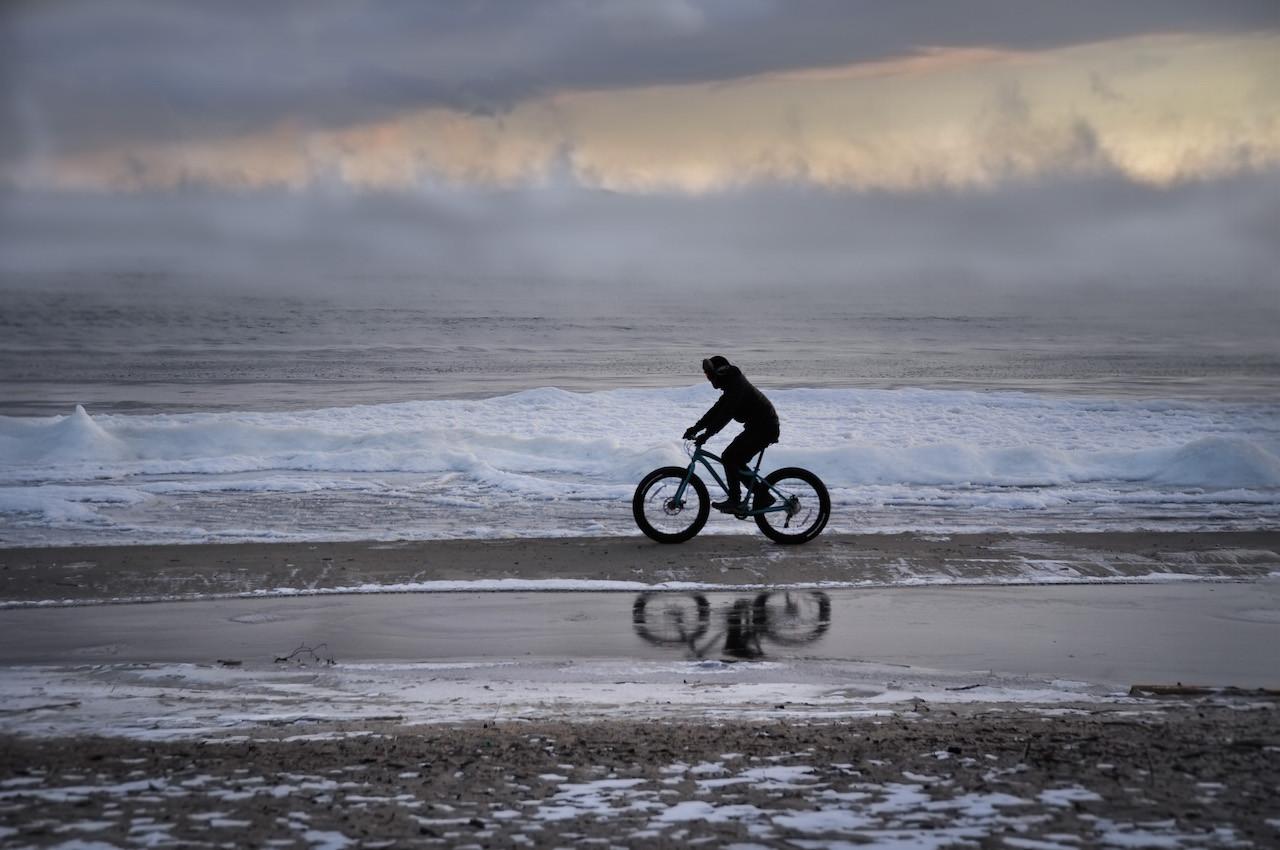 Bike On Ice