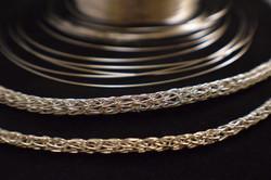 Woven Silver Chain