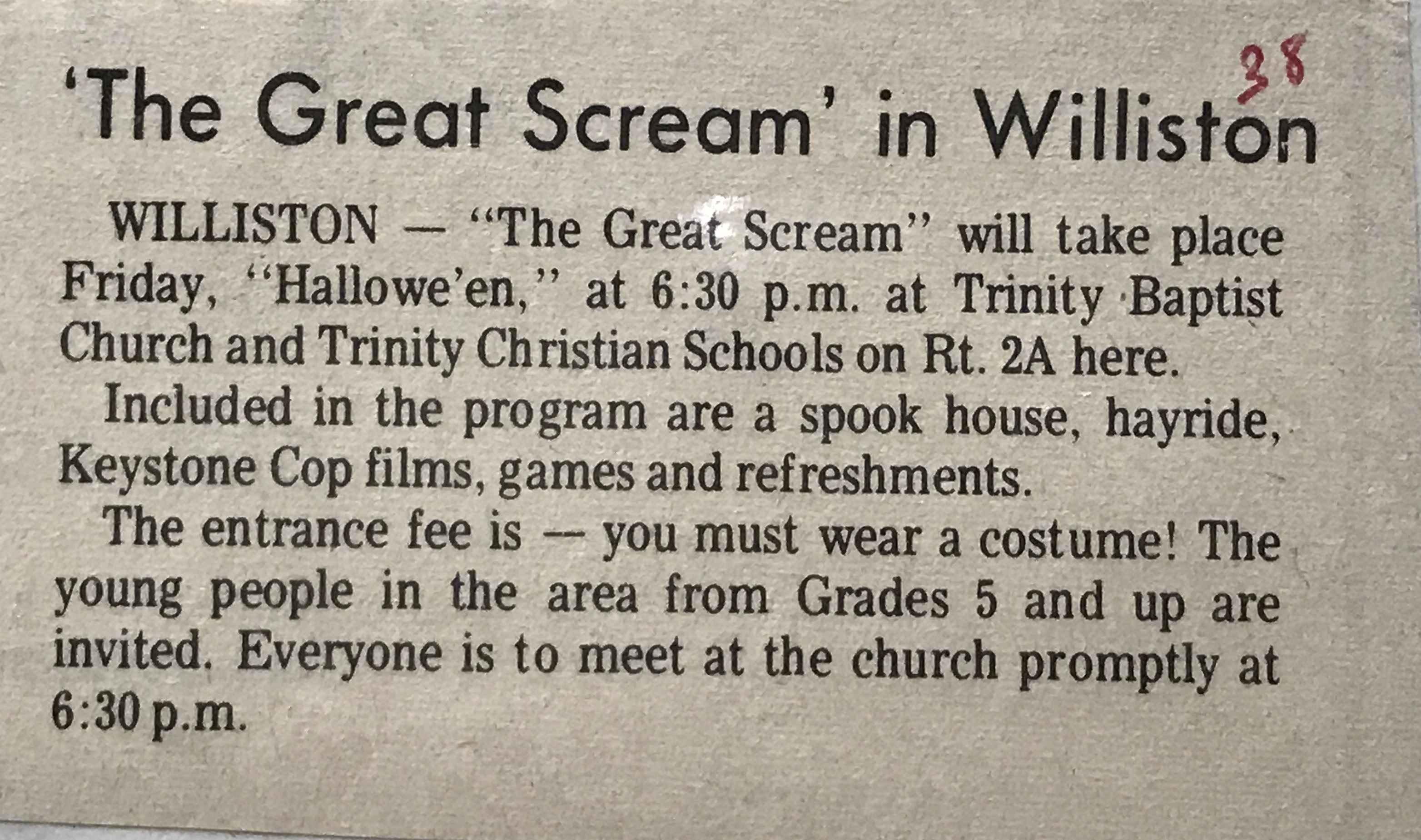 The Great Scream
