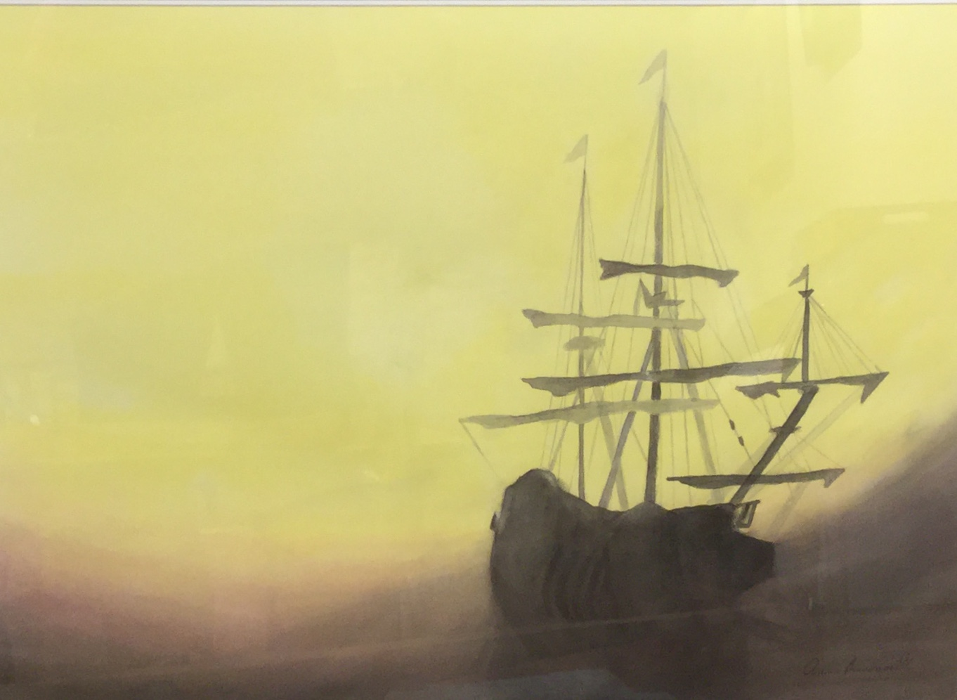 Ghost Ship - Ann Bissonnette