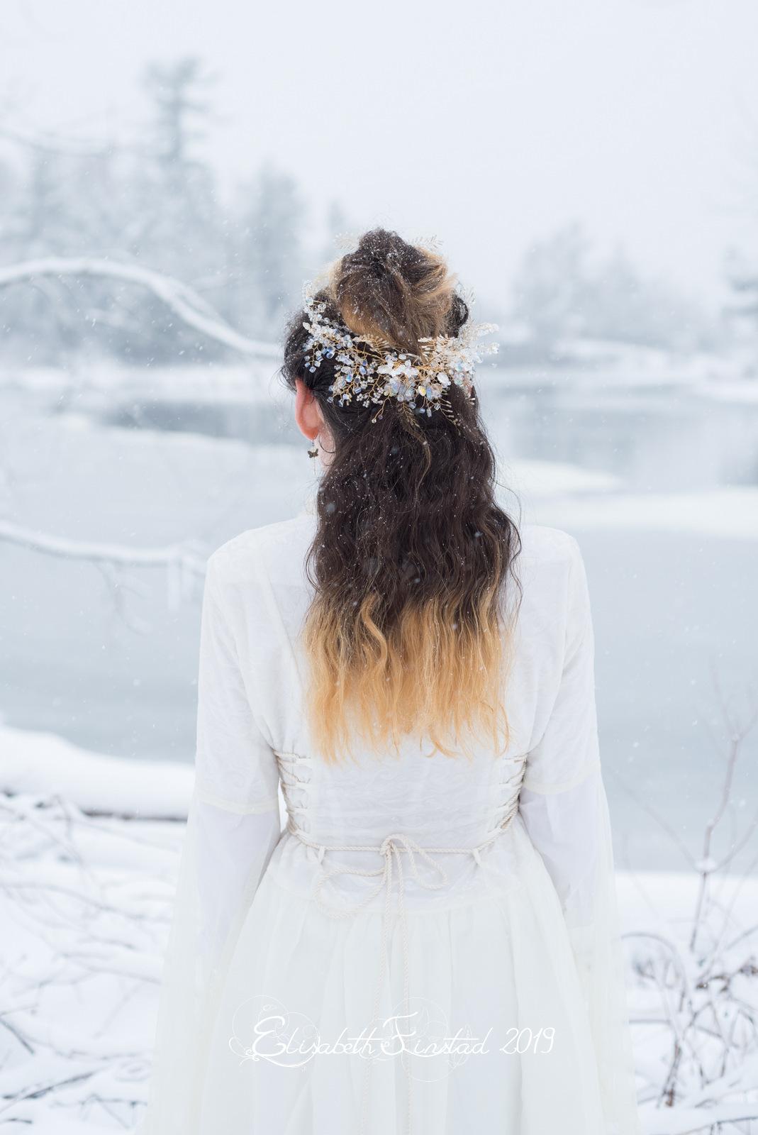 Bridal Hair Wreath