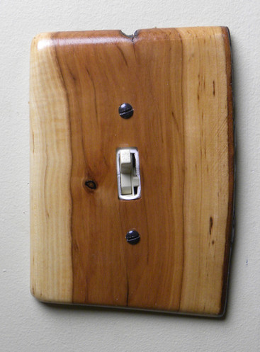 Applewood Switch Cover