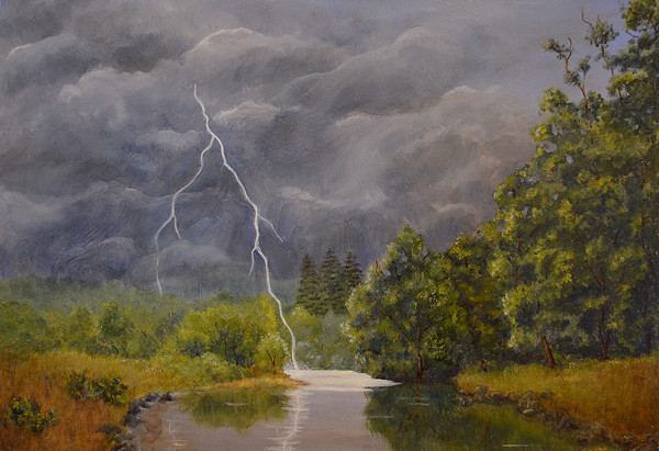 Thunderstorm over the Mad River