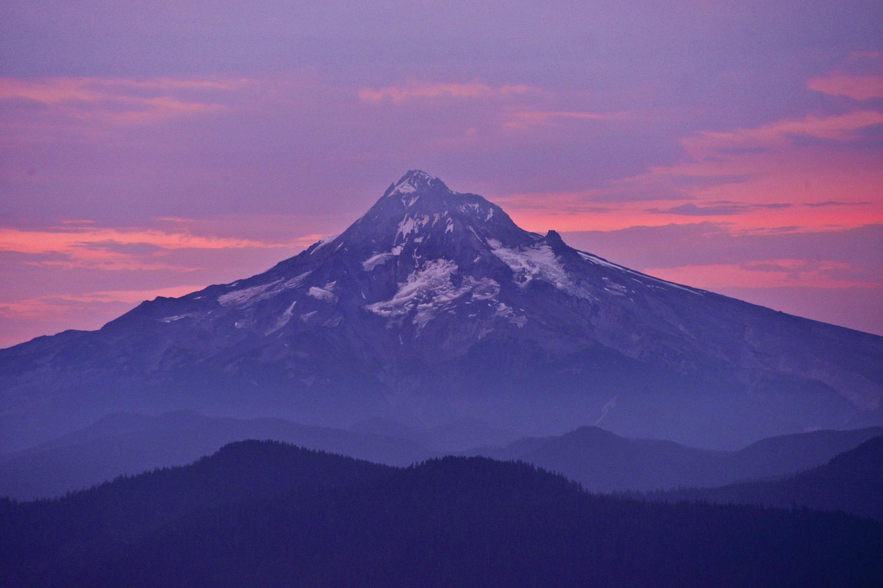 Mount Hood Oregon at Sunrise