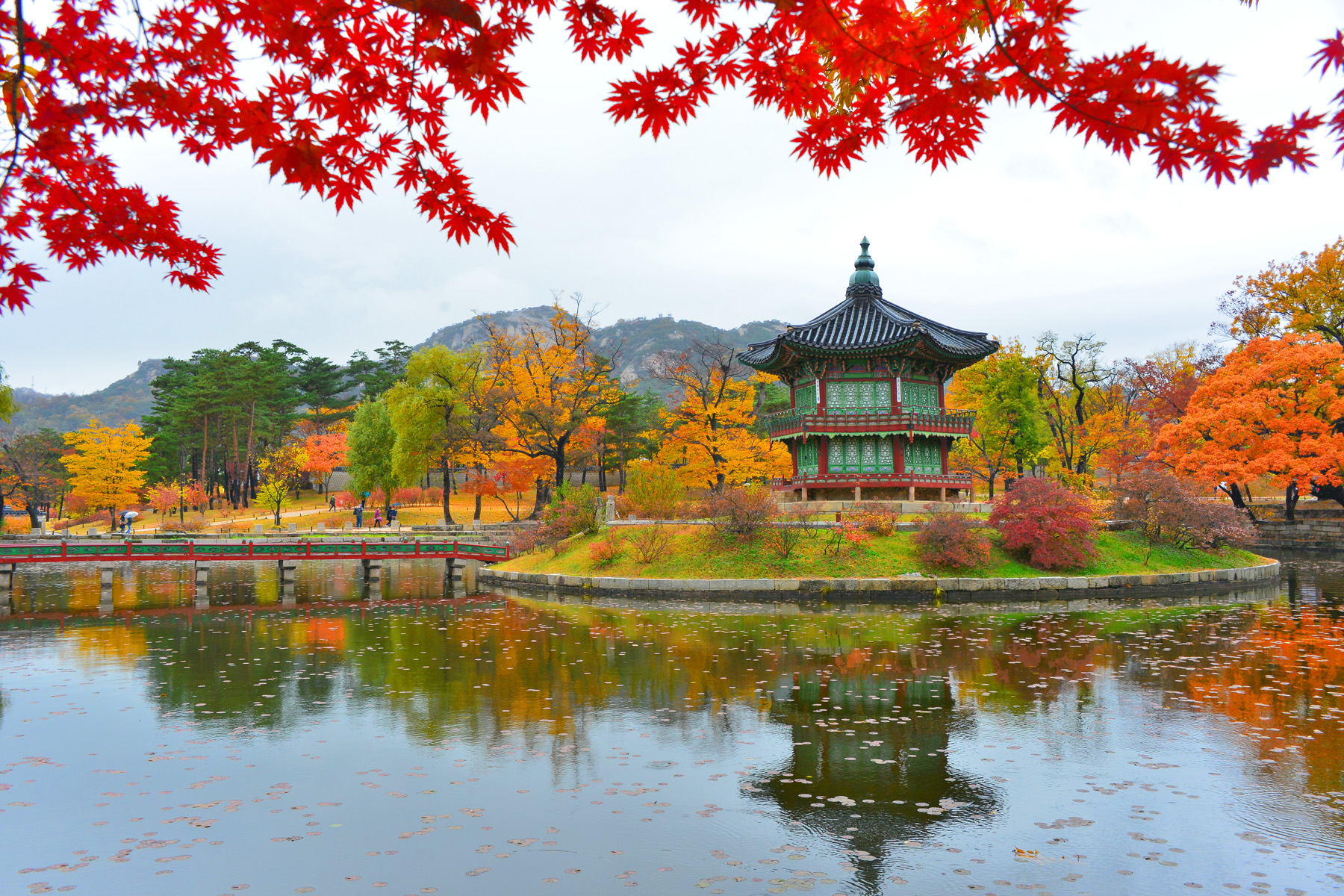Palace In Seoul, South Korea