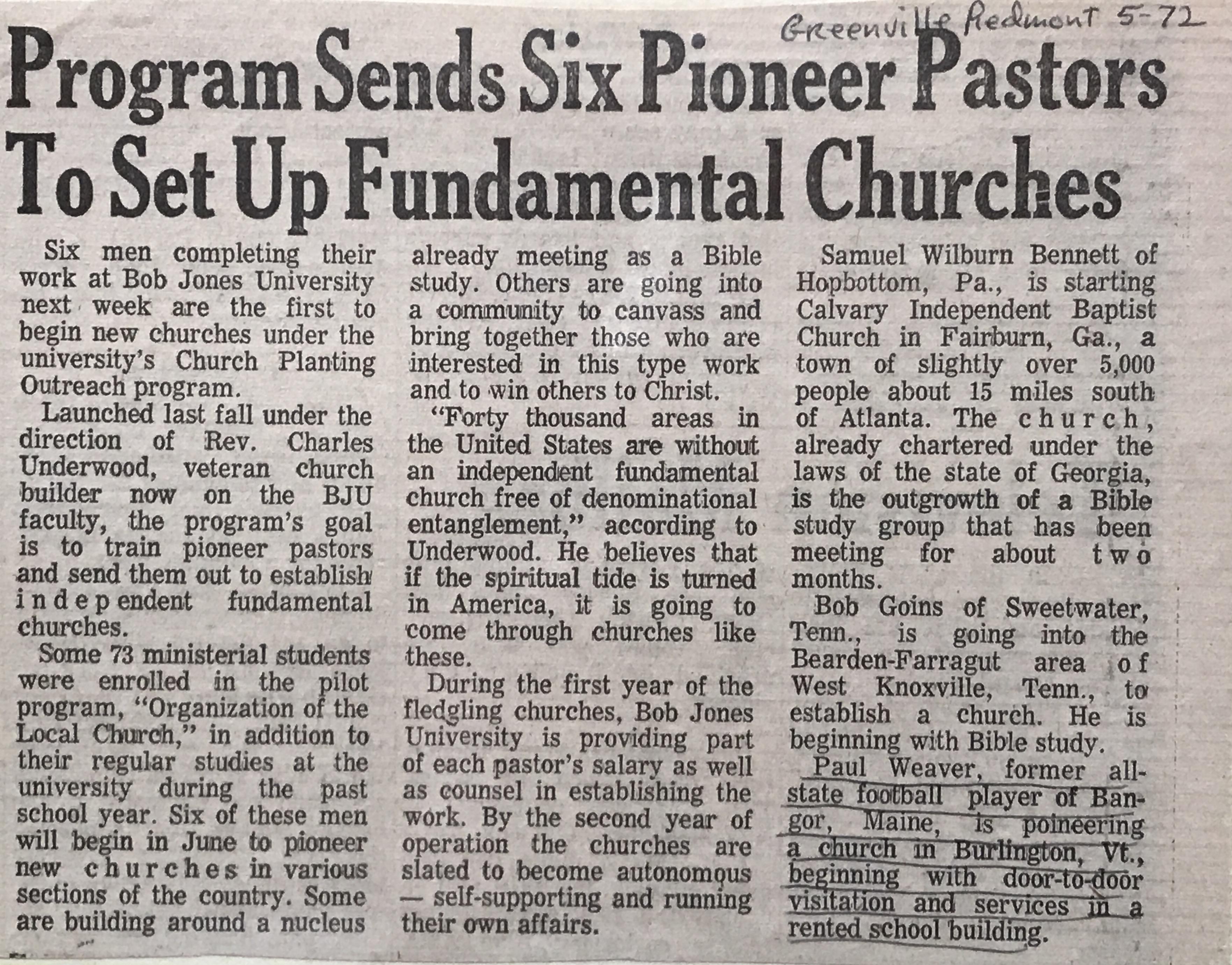 Church Planting