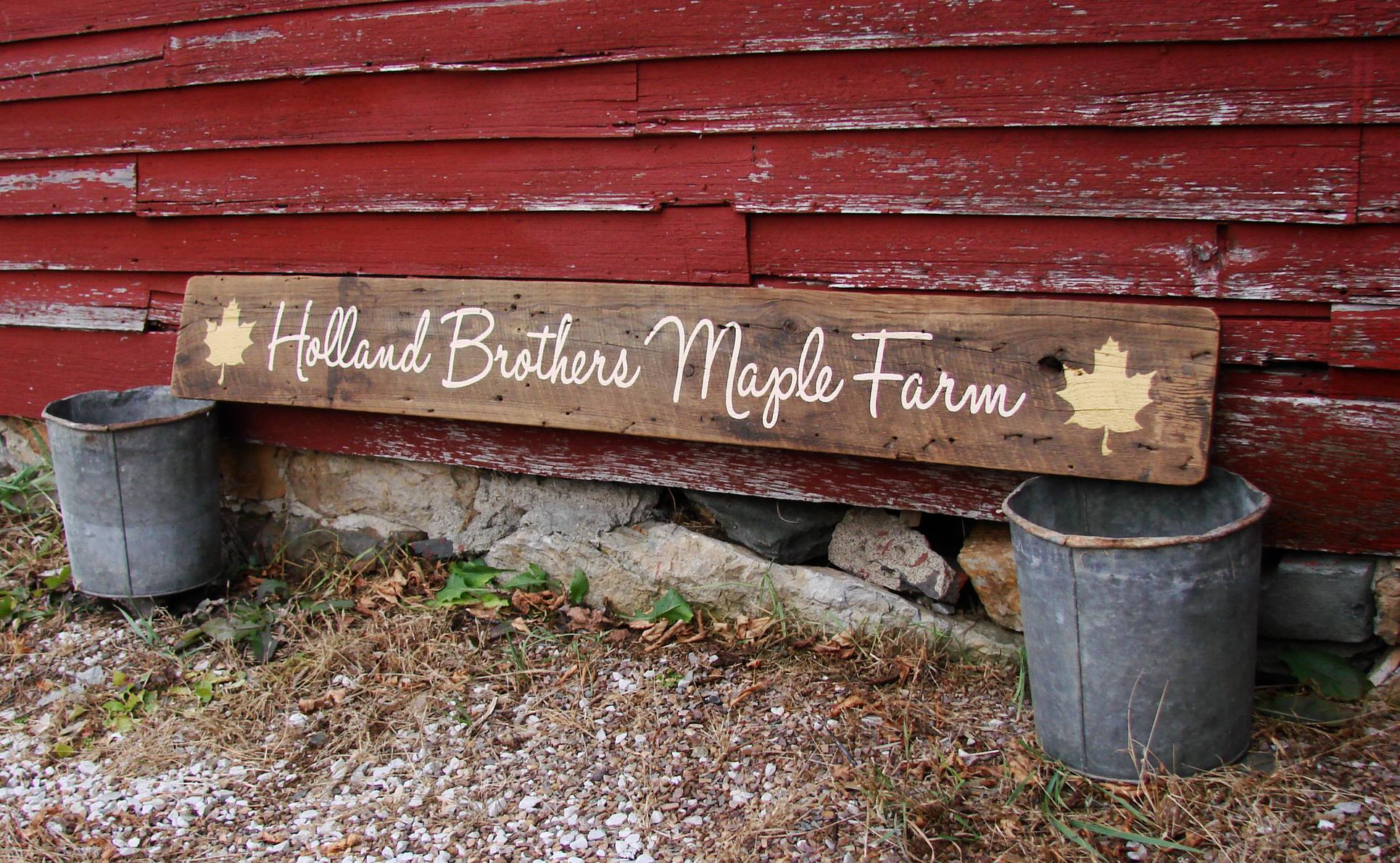 Holland Brothers Maple Farm