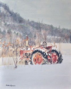 Duffy's tractor 11 x 14