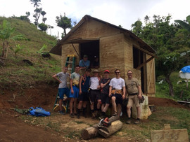 Building A House & A Friendship