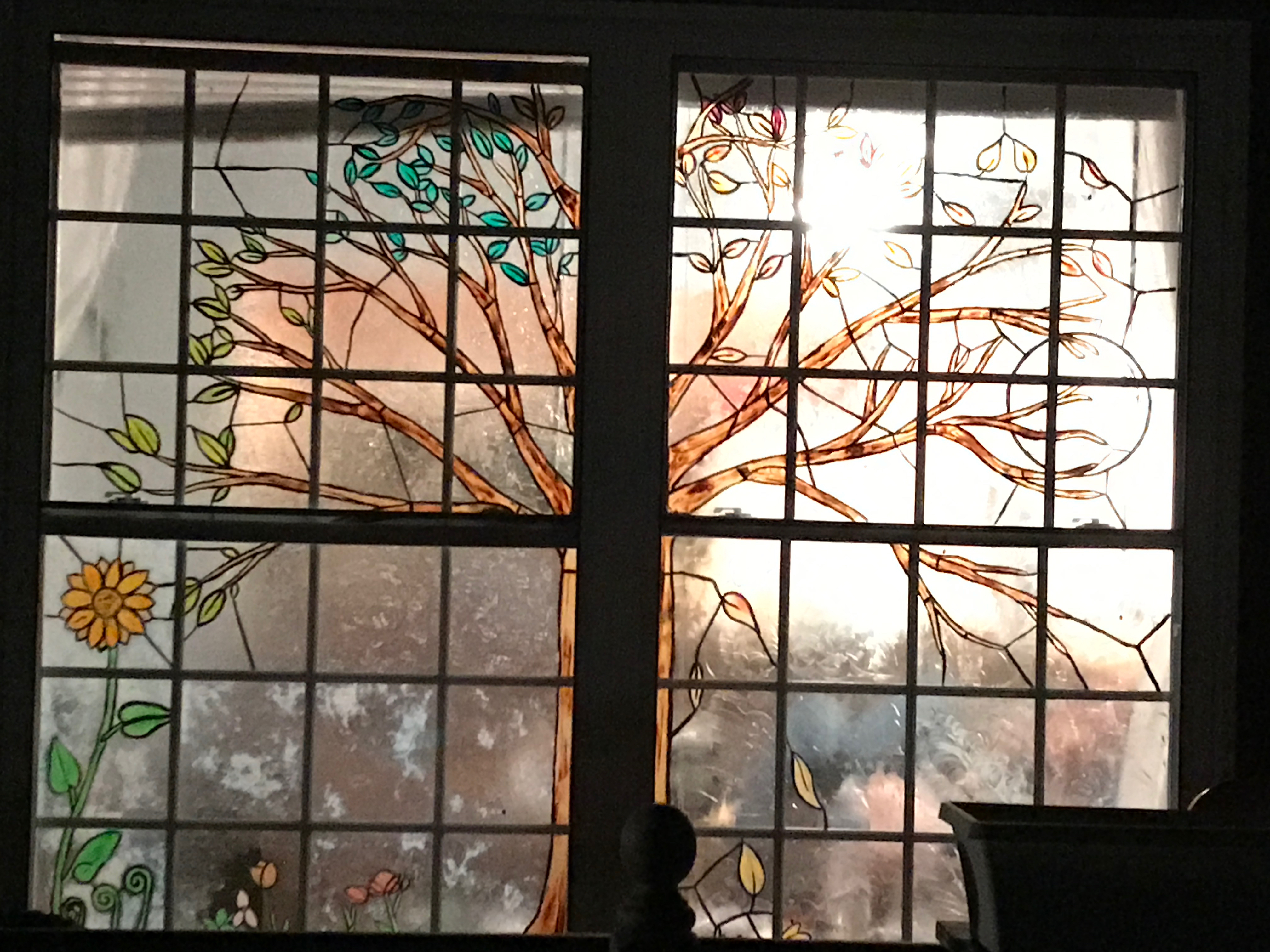 Glass Painting - Tree of Life