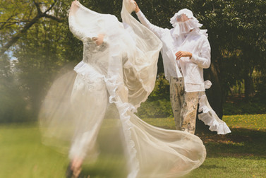 BULLEYBULLEY Artist Response for Opera Queensland's Orpheus & Eurydice 2019.  Photograper: Deelan Do; Models: Remi Roehrs and Max Donker