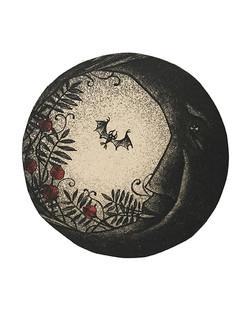 Moon and Bat