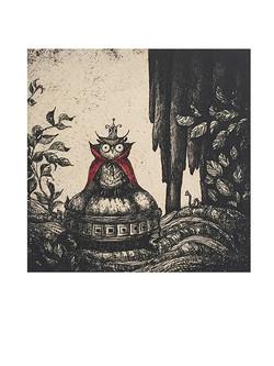 Owl in the Velvet Woods
