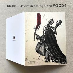 #GC04 GreetingCard $6.00
