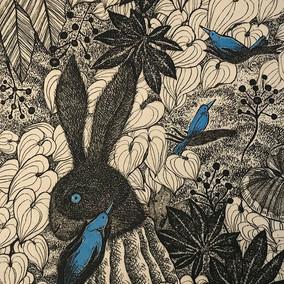 'the Three Blue Birds'