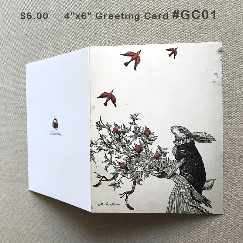 #GC01 GreetingCard $6.00