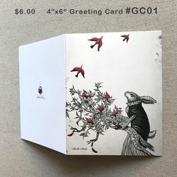 #GC01 GreetingCard $6.00