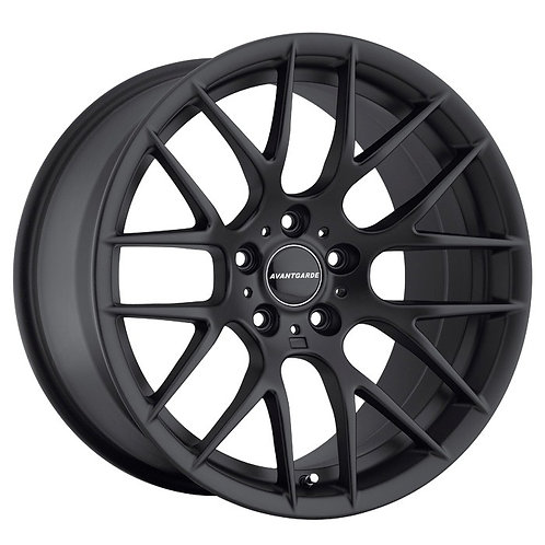 "18"" Avant Garde M359 Flat Black Wheel Set For BMW E90 / E92"