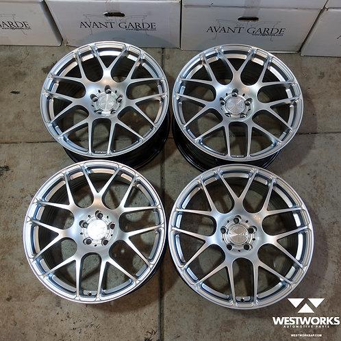 19 x 8.5 Avant Garde M610 Concave Wheel Set Audi Fitment