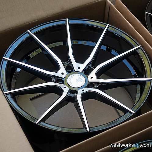 "20"" Avant Garde M652 Concave Flow Forged Wheel Set Tesla Model S, X"
