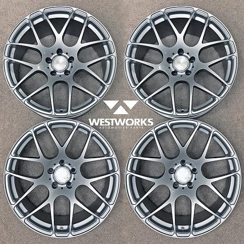"""20"""" Avant Garde M610 Concave Wheel Set Audi Fitment"""