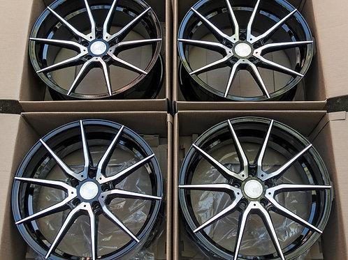 20 x 8.5 Avant Garde M652 Flow Forged Wheel Set Tesla Model 3