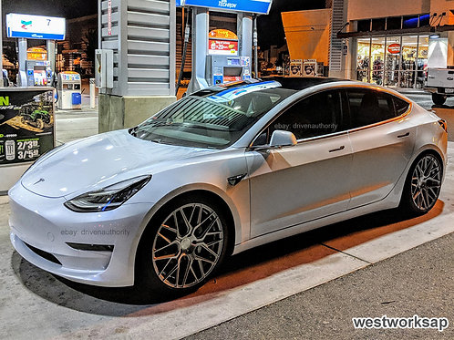 "20"" Rohana RFX10 Wheel Set For Tesla Model 3"