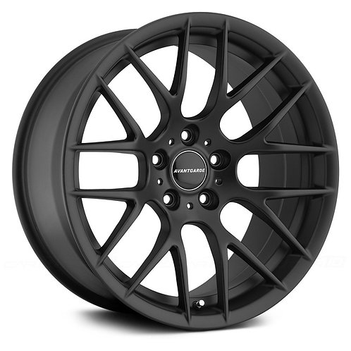 "20"" Avant Garde M359 Black Wheel Set For BMW F10 5 Series"