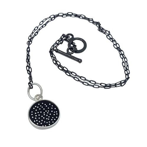 Dotty galaxy pendant.