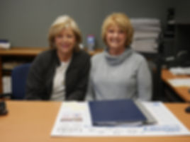 Big Meadow Oil Owners Betty Gentry and Sheila Pruitt