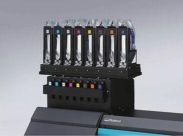 system asilania atramentem Roland RT-640