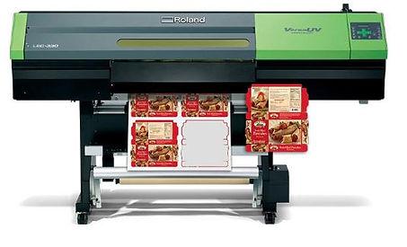 Roland Versa UV LEC 330, LEC-540, ploter drukujący UV Roland, druk UV,  ploter drukująco-tnący
