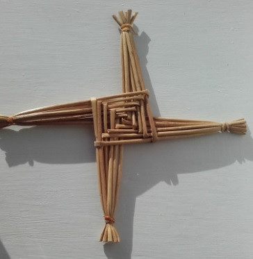 An old St. Brigid's Cross