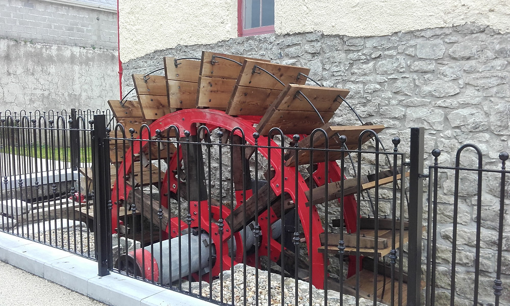 Restored Mill Wheel, Tuam, Co. Galway
