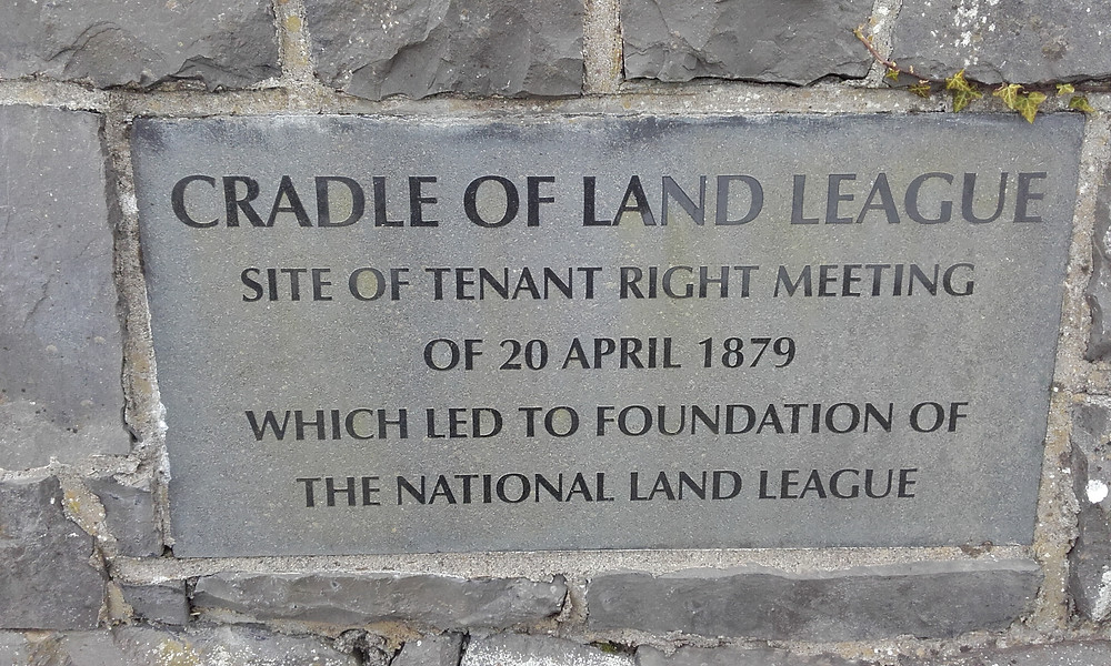 Land League Plaque