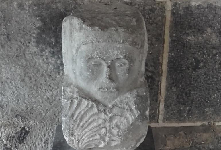 Medieval Stone Head