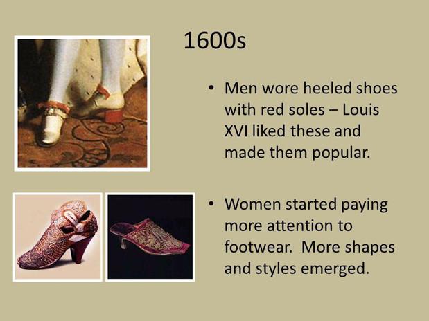 The History Of Men's High Heels – Cross