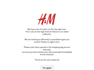 Alexander Wang x H&M launches...