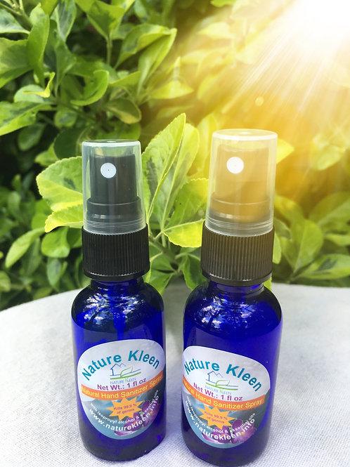 Natural Hand Sanitizer Spray