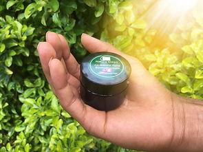Pocket-Sized Natural Hand Sanitizer Cream