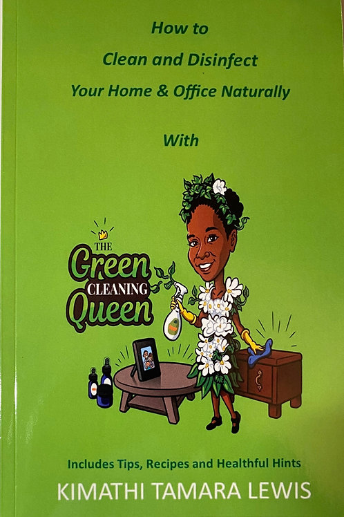 Book: How To Clean and Disinfect Your Home & Office Naturally