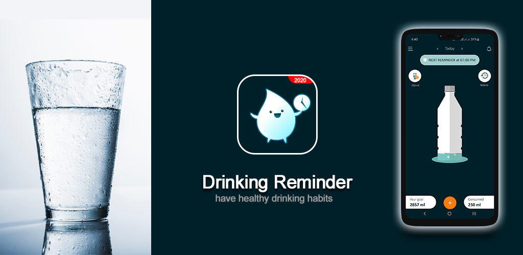 Water Reminder banner design