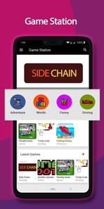 Game Station screenshots design