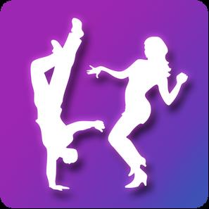Learn Dance App Icon Design
