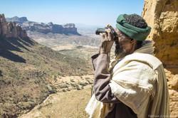 Abune yemata, the rock cliff
