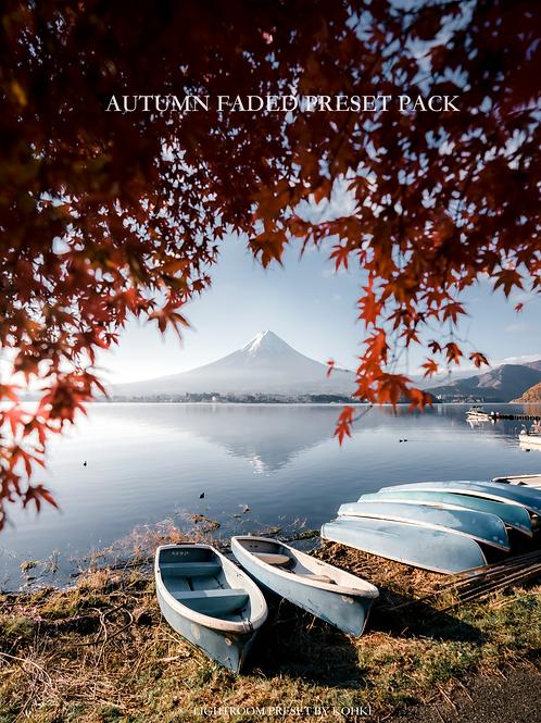 Autumn Faded Preset Pack (Lightroom Desktop)