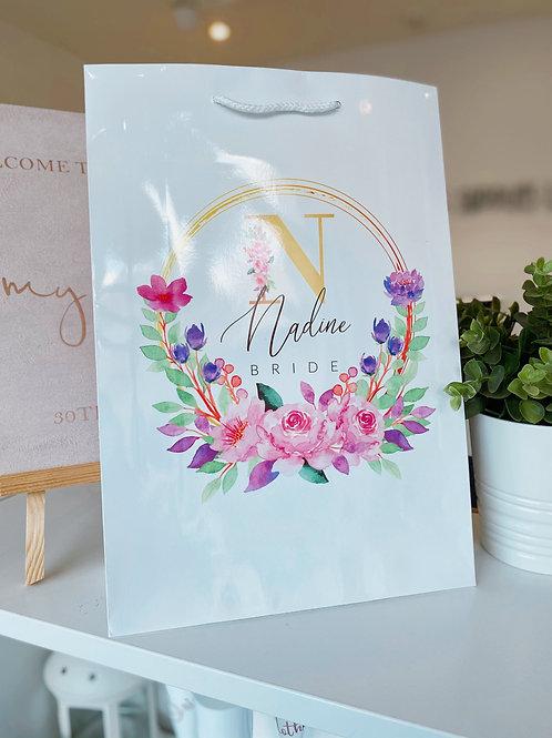 Mayan Bridesmaid Proposal Bag - Gift Bag, Mirror, Slippers, Tote, Mug & Card