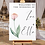 Thumbnail: Watercolour Flower Wedding Welcome Sign