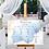 Thumbnail: Blue & Gold Watercolour Table Plan