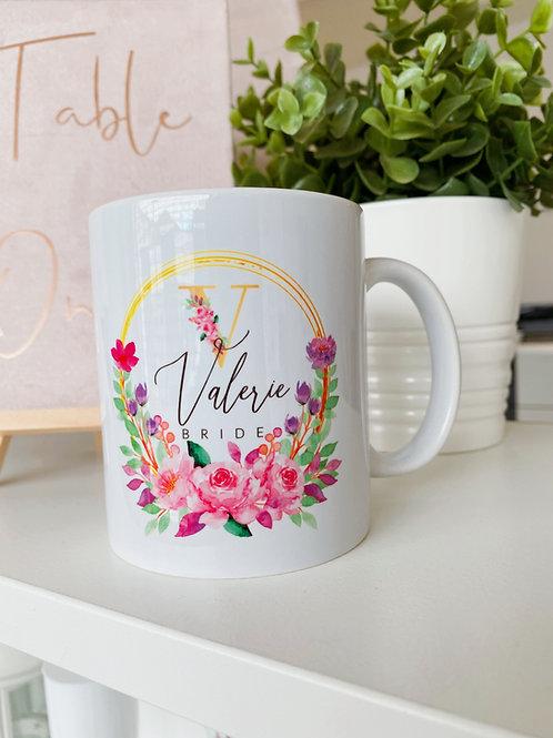 Personalised Team Bride Mug
